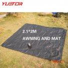 YUETOR 2.1*2M Camping Mat Sleeping Pad Egg Slot Tent awning Mattress Foam Dampproof Moistu
