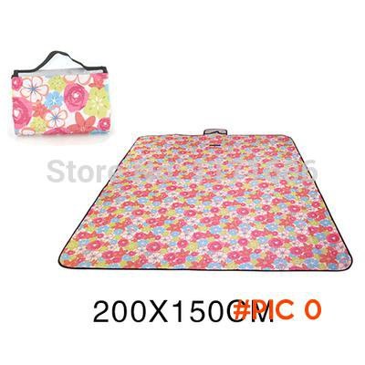 Free Shipping New Roll up Outdoor Camping Baby Climb Plaid Blanket Camping Mats 180 cm x15