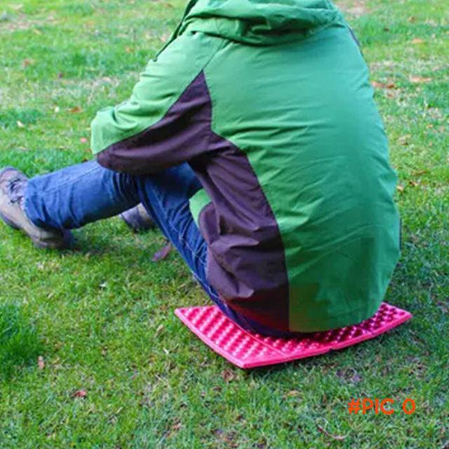 Portable Folding Foldable Camping Mat XPE Foam Outdoor Seat Waterproof Picnic Cushion Pad