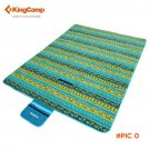 KingCamp Fleece Picnic Blanket Waterproof Camping Mat for Camping Beach Polar Fleece Picni