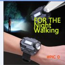 New Portable CREE XPE Q5 R2 LED Wrist Watch Flashlight Torch Light USB Charging Wrist Mode