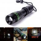 Adjustable 3000 Lumen Aluminum alloy Zoomable CREE XM-L Q5 LED Flashlight Torch Zoom Lamp