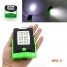 Portable LED Night Light Flashlight LED Torch Lantern Work Light 23 LED 2 Modes Camping Bi