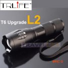 E17 CREE XM-L2 8000LM tactical cree led Torch Zoom cree LED Flashlight Torch light For 3xA