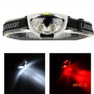 Water Resistant 6 LED Lights 1200 Lumens 3 Modes Outdoor Fishing Camping Hiking Cycling He