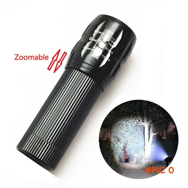 tactical lantern portable Camp 2000 Lumens LED Bicycle Light led Flashlight Torch Zoomable