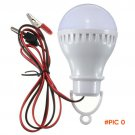 Portable E27 LED Bulbs Lamp Pure White Home Tent Camping Hunting Emergency Outdoor Hanging