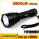 LED Hunting Flashlight Torch Cree Led Torch C8 Cree light lantern nitecore Waterproof High