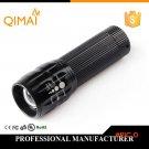 High Power Cheaper 2000Lumens Lanterna Penlight Torch Zoomable LED Flashlight Light For ca