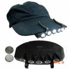 Details about  Ultra Bright 5 LED Clip On Cap Light Hard Hat Outdoor Fishing Camping Cycling BC310