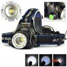 Hotest! 2000LM XM-L T6 LED Zoomable Headlight 3Modes 18650 Bike Bicycle Flashlight Head Li