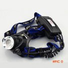 Hot Sale  Cree T6 LED Headlamps 2000LM Rechargeable 3 Modes Headlights Lamp Lights +18650