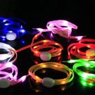 1 Pair 105cm Luminous Shoelace Glow Casual Led Shoes Strings Athletic Shoes Party Camping