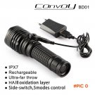 Convoy  BD01 flashlight CREE XML2 U2 LED 18650 26650 flashlight LED flashlight ,torch,lant
