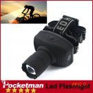 z50 For Camping Hunting LED Headlamp CREE 600Lumen Flashlight Frontal Lantern Durable Zoom