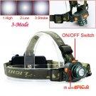 NEW CREE Q5 LED 2000 Lumens Motion Sensing Cree Led Headlamp Headlight Sensor Head Light F