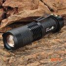 UltraFire Highlight mini led flashlight  SH98 Cree XM-L T6 910lm 3-Mode White Light Zoomin