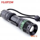 YUETOR zoomable 2000 lumens waterproof torch camping bicycle hunting bike flash light aaa