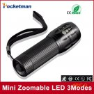 Free shipping cheaper and practical 2000Lumens High Power Torch Zoomable LED Flashlight To