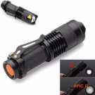 Portable CREE T6 LED Mini Flashlight 14500 AA Torch 2000LM Zoomable Lamp Light 3-mode BC615