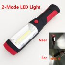 LED Hook Light Magnetic Flashlight Perfect Torch Work Lamp with Magnet and 2 Light Modes C