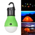 Hot Outdoor Portable Hanging 3-LED Camping Lantern,Soft Light LED Camp Lights Bulb Lamp Fo