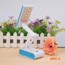 Brand Rechargeable Rotating 14-LEDs Folding LED Reading Light Desk Table Camping Bedside L
