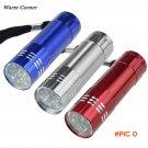 Warm Corner 1PC High Quality Nine Small Light LED Waterproof Flashlight  Light Lamp Sports