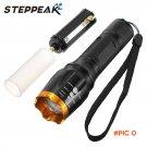 2000LM CREE XM-L T6 Led Flashlight Waterproof LED Zoom Adjustable Flashlight  Lampe Torche