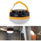 180 Lumens Portable Outdoor Camping Lantern Hiking Tent LED Light Campsite Hanging Lamp Em