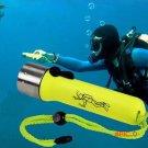 2016 New LED Waterproof Torch Lantern Lighting Light Underwater Diving Flashlight Torch Po