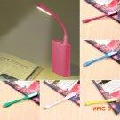 Hot Flexible Ultra Bright Mini USB LED Light Computer Lamp for Camping Hiking Travel Noteb