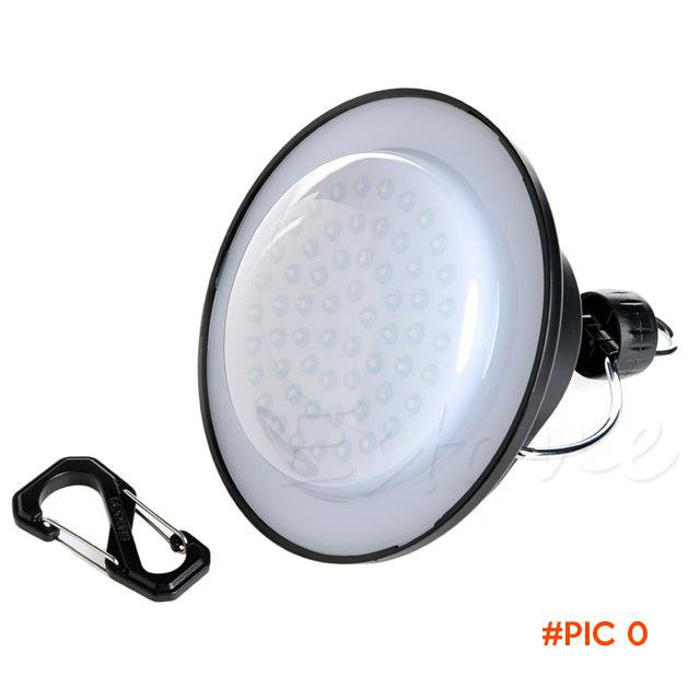 F85   Outdoor Camping Light 60 LED Portable Tent Umbrella Night Lamp Hiking Lantern BC789