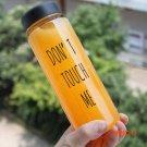 2015 New My Creative Bottle 500ml Plastic Water Bottle Travel Camping Lemon Juice Drinkwar