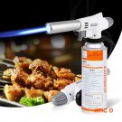 920 Wind Fully Automatic Electronic Flame Gun Butane Burners Gas Adapter Torch Lighter Hik