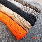 33FT(10M)  Paracord Parachute Cord Lanyard Rope Mil Spec Type III 7 Strand Climbing Campin