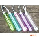 water bottle Sport Outdoor Sports Drinking Water Bottles plastic Summer 280ML Transparent