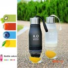 1PCS New Frosted Leak-proof 650ml Lemon Cup H2O Portable Brief Creative Sports Water Bottl