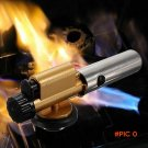 2016 New Portable Copper Flame Butane Gas Burn Gun Maker Torch Lighter For Outdoor Camping