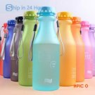 My Christmas gift, 550 ml Unbreakable Plastic Water bottle Camping/Outdoor/Biking/Sport BP