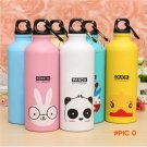 New Design 500ml Lovely Animals Outdoor Portable Outdoor Sports Cycling Camping Bicycle Al
