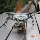 Portable 16x16x5cm Outdoor Folding Gas Stove Camping Hiking Picnic Stove with Igniter 3500