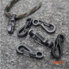10PCS Mini Spring Claps Quickdraw Bag Backpack Keychain Men EDC Carabiners Camping Equipme
