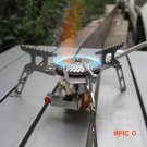 Promotion Portable Outdoor Folding Gas Stove Camping Hiking Picnic Stove with Igniter 3500