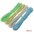 20FT 9 Cord Strand Nylon Paracord 550 Lb Parachute Cord Rope Cuerda Luminous Glow In The D