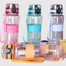 600ml BPA-FREE Creative Flip lid Portable Juice Drink Bottle Outdoor Sports Cycling Travel