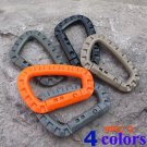 5pcs/lot Mini Climbing Carabiner Clip Edc Tool Outdoor Camping Carabiner Equipment Militer