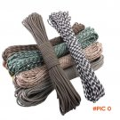 50ft  Paracord 550 Paracord Parachute Cord Lanyard Rope Mil Spec Type III 7Strand  Climbin