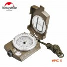 NatureHike Multifunctional Lens Digital Geological American Compass Marine Outdoor Camping