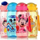 400ml Eco-friendly PP Kid Bickiepegs baby cups baby cartoon water bottle children Straw Bo